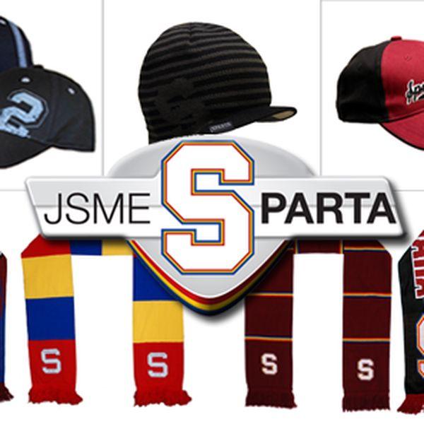 Sparta Praha - Vybavte se na zimu originální sparťanskou šálou nebo čepicí.