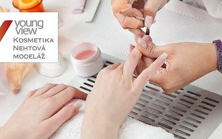 Modeláž gelových nehtů a úprava metodou Airbrush za 50 %. V novém salonu Youngview na Školní ulici. Původní cena 600 Kč, pro vás jen 299 Kč.