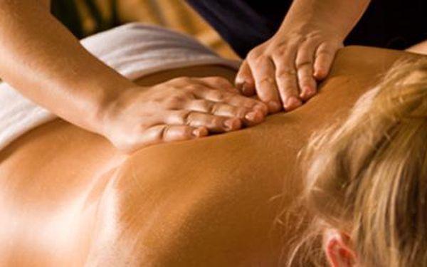 Exklusivní balíček masáží v celkové hodnotě 1 960Kč se slevou 60 % (4 x 30 minut). Nechte se hýčkat a zrelaxujte pod rukama profesionálů. Bolesti hlavy, šíje a ramen odletí v dál po speciálním koktejlu masáže, akupresury, aromaterapie a reflexní terapie.