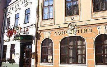 Silvestrovský pobyt pro DVA v Hotelu Concertino **** v Jindřichově Hradci