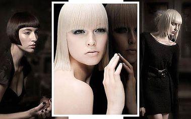 Dámský střih COMPLETTE (mytí, střih, foukaná), práce profesionálních kadeřníků a italská špičková kvalitní vlasová kosmetika zn. Davines
