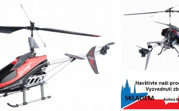 RC model vrtulníku 848B - délka: 70cm (s tak obrovským vrtulníkem jen tak nějaký vánek nehne). V současnosti jednoznačně nejlepší RC vrtulník na ven pro začátečníky na českém trhu s neopakovatelnou slevou 41%! Inovovaný model – model 2011, nová kapotáž, s