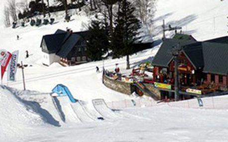Celodenní lyžařská permanentka pro jednu osobu ve ski areálu Horní Domky Rokytnice nad Jizerou. Přijďte si zalyžovat do úžasného střediska v hlavní sezóně za super cenu!!!
