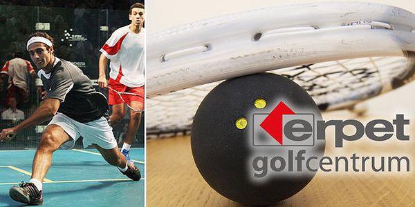 Darujte kartu na squash nabitou na 3000 Kč. Za pouhých 1800 Kč tak můžete hrát blízko centra Prahy v ERPET Golf Centru. Udělejte vašim blízkým radost. Nyní s 40% slevou.