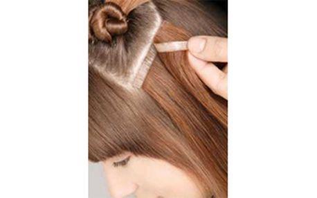 Prodloužení vlasů metodou TAPEX