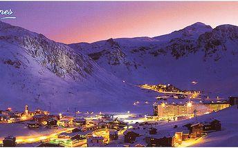 Lyžařský zájezd do nejkrásnějšího střediska Francie - Tignes. 7 nocí, skipass v ceně!