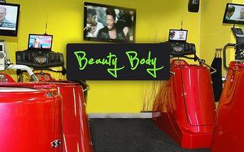 Chcete zhubnout vánoční kilogramy? Vyzkoušejte Vacustar v dámském fitku Beauty Body. Půlhodina za 90 Kč, tedy s 50% slevy. Permanentka na 10 vstupů za 900 Kč místo původních 1800 Kč.
