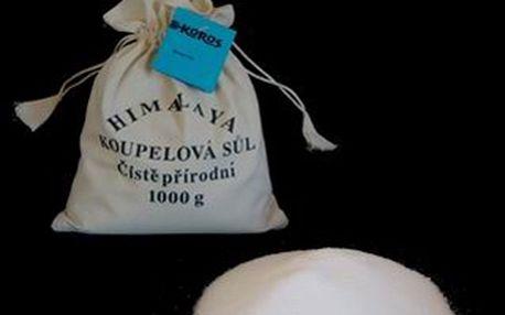 Udělejte si doma osvěžující koupel s himálajskou solí a sedmi přísadami (7x1 kg): konopí, růže stolistá, levandule, měsíček, dubová kůra, meduňka a heřmánek.