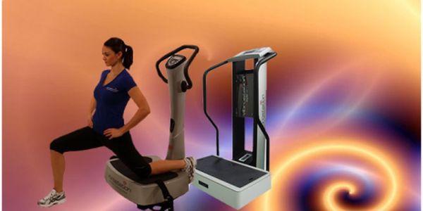 Cvičte bez námahy a shoďte kilogramy! Přístroj, co cvičí za Vás! Vibrostation Studio System! Permanentka na 10 cvičení za úžasných 499 Kč, původní cena 1500 Kč - sleva 67%!