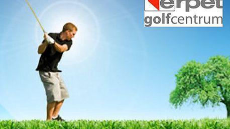 POUHÝCH 1599 Kč místo 4 490 Kč za čtyřhodinový intenzivní golfový kurz s PROFI trenérem Davidem Tešným. Využijte této jedinečné slevy a začněte s golfem hned na Nový rok. Skvělá příležitost...spousta zábavy...a to vše v teple golfového areálu ERPET na Smí