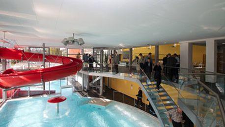 Aquapark Kuřim pro 1 osobu na 180 minut + 25 minut na multifunkčním masážním vanovém boxu. Přijďte si zaplavat a užít si příjemné odpoledne za 190,- Kč s 53% slevou!