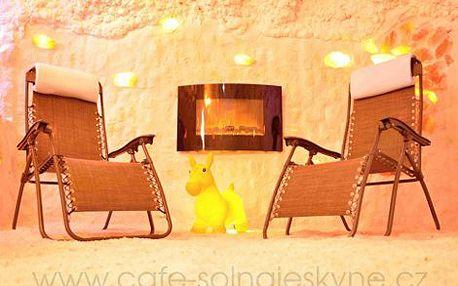 899 Kč místo 3486 Kč za soukromou dvouhodinovou relaxační kúru v solném bludišti a skvostné XXL MENU pro ČTYŘI v Cafe Solná jeskyně Beroun! Čeká Vás omlazující slastný relax v léčivé síle luxusní solné jeskyně a gurmánské hody s vepřovou krkovicí, kuřecím