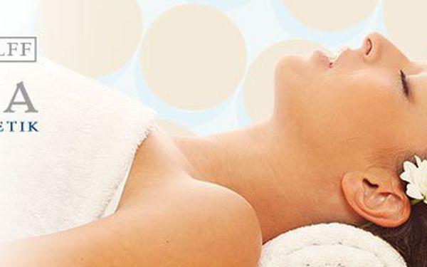 Nechte se hýčkat luxusní kosmetikou Alcina v příjemném prostředí salonu Lotos Beauty. Kosmetické ošetření dle typu Vaší pleti zahrnuje odlíčení, peeling, aplikace ampule s aktivní látkou, masáž obličeje a dekoltu, maska, závěrečný krém a to vše se SKVĚLOU
