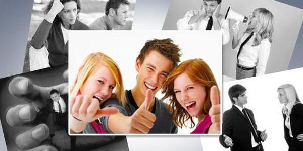 Naučte se odolat nátlaku a komunikovat s ostatními! Kurz Asertivita v praxi vás připraví na jednání v běžném i profesionálním životě jen za 1196 Kč. Sleva 60%.