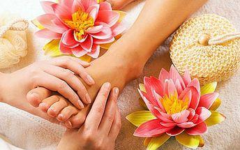 Kokosová masáž nohou (30 min) - božský zážitek.