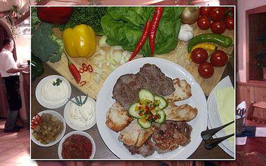 Neuvěřitelný masový MIX GRILL 600g masa. Navštivte útulný STEAK Restaurant v Praze! Hospoda Krymská Jednička se těší na Vaši návštěvu!