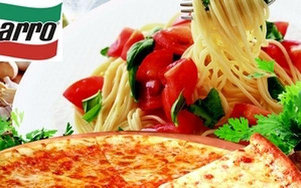 Čerstvá italská kuchyně v restauracích sbarro , konzumace v hodnotě 200kč za pouhých 110kč