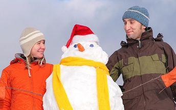 Víkend pro DVA na lyžích s relaxací v Kostelci nad Orlicí se slevou 30%