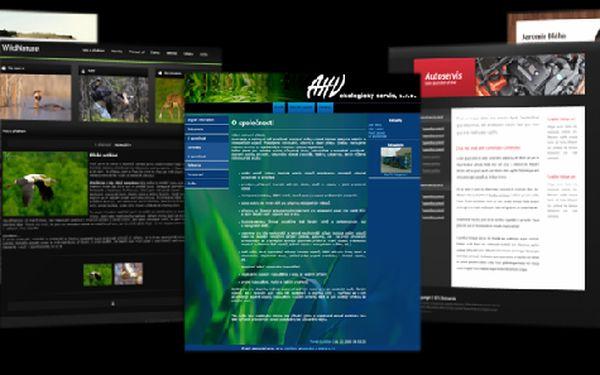 Profesionální webové stránky s redakčním systémem ARSedit od jedné z předních firem v oblasti nízkorozpočtových webů ABTERA s.r.o. za čtvrtinu ceny!