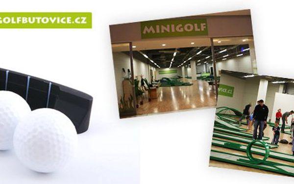 Minigolf Butovice