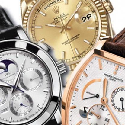 Nepřehlédněte, 30% sleva na VEŠKERÝ SORTIMENT luxusních hodinek v obchodě HS Klenoty v novém obchodním centru Galerie Harfa. Získejte jakékoli luxusní hodinky značek Dolce&Gabbana, Emporio Armani, Guess, Storm, Diesel, DKNY,.. s úžasnou slevou 30%!