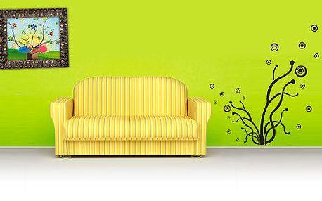 249 Kč za slevový kupon v hodnotě 500 Kč na originální samolepky na zeď! Vyzdobte si svůj byt, pokoj, nábytek, kancelář či auto! Rozmanité vzory, výběr z 18 barev, možnost vlastního návrhu!