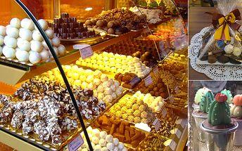 Čokoládové a marcipánové pralinky - Jen 20 Kč za nákup čokoládových a marcipánových pralinek v hodnotě 100 Kč v obchodě Sladký život na Moskevské ulici. Oslaďte si život originálními bonbony, medovými specialitami či pravou hustou čokoládou.