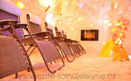Sleva 60% Neuvěřitelné! Dvě solné jeskyně pro Vás a Vaše přátele. Pohádková-relaxační masáž v první jen pro Vás a druhá jeskyně pro přátele, jejich relax, zdraví a to všechno ještě s velikou slevou! Úžasný zážitek díky profesionálům, kteří Vás rozmazlují