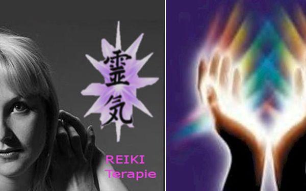 Povznášející půlhodinová REIKI MASÁŽ plná léčivé energie nepředstavitelné síly či REIKI terapie dle VLASTNÍHO VÝBĚRU!