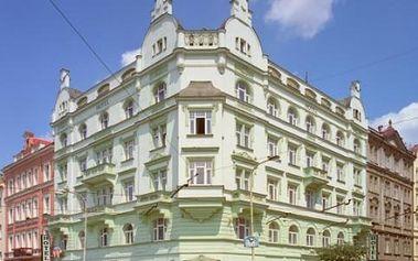 Romantický pobyt pro DVA v Praze v HOTELU UNION****za bezkonkurenční cenu! Udělejte radost své drahé polovičce a vyražte na romantický pobyt a získejte 2 NOCI ubytování v pokoji De-Lux, VEČEŘI, láhev SEKTU a květiny na pokoji...se slevou 39%!