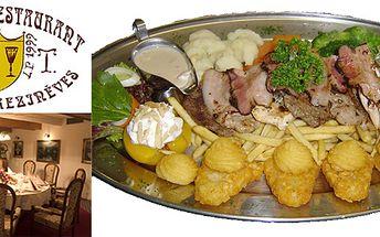 Stylová večeře pro dva: absolutní gurmánský zážitek - golemovo plato