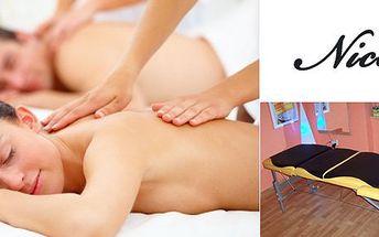 375 Kč za jednu z celotělových masáží v hodnotě až 900 Kč. Aromatická, klasická, medová nebo indická masáž bylinkovými sáčky. Uvolnění celého těla se slevou až 58%.