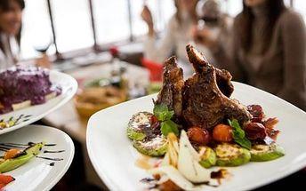 Sleva až 50% do pěti oblíbených restaurací dle výběru, neomezená konzumace. Máte chuť na pořádný argentinský steak od Dvou slunečnic, maxi žebírka ala Lokart nebo na jedinečnou svíčkovou jako od maminky, jakou umí jen v restauraci Na Přístavu? Pořiďte si