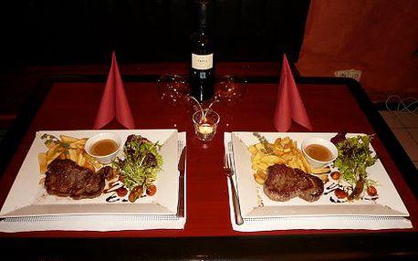 239 Kč místo 478 Kč za DVĚ PORCE šťavnatého Rib Eye Steaku, vynikající pepřové omáčky a steakových hranolek v Gecko Baru II. v centru Prahy! Je čas na pořádnou porci dokonalého steaku! Od 12-20 hod půllitr Krušovic jen za 18 Kč!