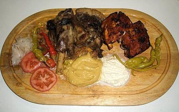Jen 276,-Kč za 1kg pečeného masa na Gurmánské fošně pro 2