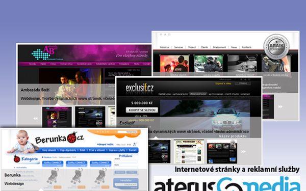 Profesionálni web prezentace s 52% slevou, získejte slevu za pouhých 500Kč