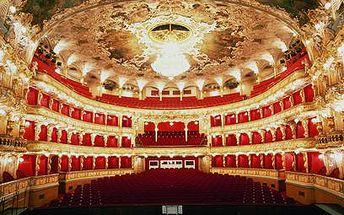 Státní opera za polovic! Vyrazte na Rusalku, La Traviatu a mnoho dalšího! Opera za 200 Kč a balet za 150 Kč!!! Exkluzivně jen na Zapakatel.cz!