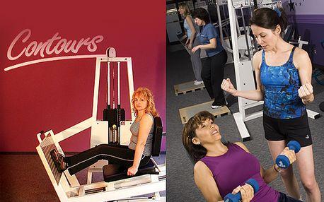 Měsíční členství v dámském fitnes clubu Contours s 50% slevou, za pouhých 900 Kč