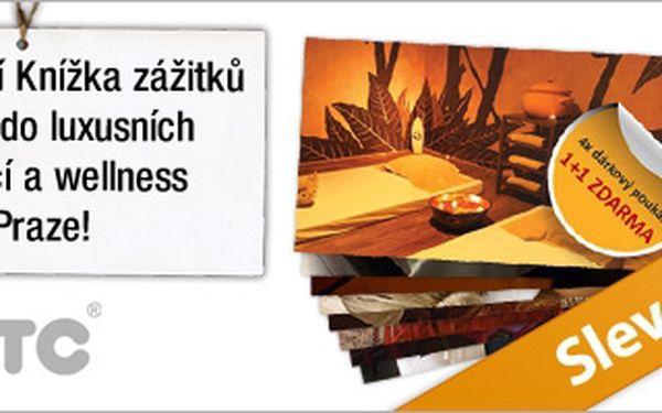 Sleva 67 % na exkluzivní Knížku zážitků plnou slev do luxusních restaurací a wellness center v Praze! Knížka obsahuje 32 poukazů se slevou 50 % nebo 1+1 zdarma! Při využití celé knížky ušetříte až 42.000 Kč! Dopřejte si luxus za poloviční ceny!