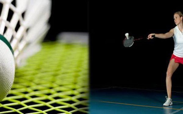 99 Kč za pronájem badmintonového kurtu na 1 hodinu. Zasmečujte raketovou rychlostí a se slevou až 55 %.