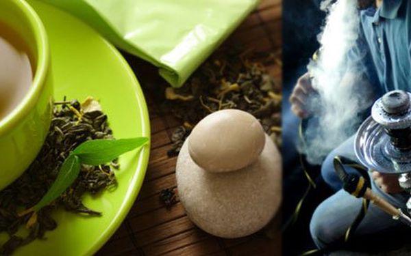 135 Kč za vodní dýmku, 2 čaje a 2 dezerty. Bezstarostný rituál v čajovně se slevou 50 %.