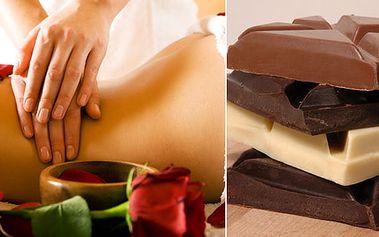 Speciální masáž přírodním olejem s čokoládovou hmotou. Výživa pokožky a odplavení toxinů. Chcete mít dokonale jemnou pokožku? Navíc jako bonus masáž dekoltu ZDARMA!