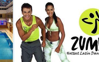 Zumba wellness days se slevou 40% ve Wellness hotelu Rezidence v Nových Hradech