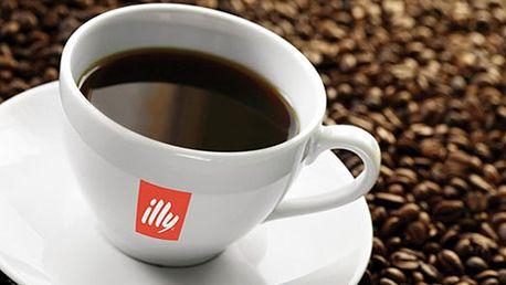 Ochutnejte jednu z nejlahodnějších káv světa - illy! Kávová zrna jsou sbírána ručně, aby bylo dosaženo její vysoké kvality, vyvážené chutí a nádherné vůně!