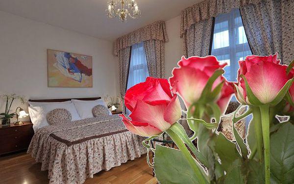 Valentýn v luxusu a přepychu v gotické budově hotelu Casa Marcello**** v samém srdci staré Prahy se slevou 52 % jen za 3333,- Kč pro dva na dvě noci!! Prožijte tři dny a dvě romantické noci v nádherném apartmá s výhledem na Anežský klášter v hotelu Casa