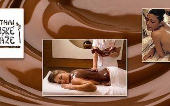 Špička mezi masážními službami! Hodinová ČOKOLÁDOVÁ MASÁŽ! Dokonalá relaxace spojená s požitky smyslů z čokolády. Jedinečná nabídka PRO OSTRAVU!