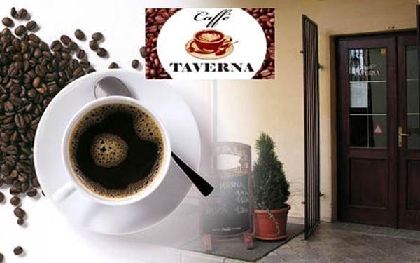 Chvíle oddychu a relaxácie - dajte si výborné presso v Caffe Taverna len za 0,55 €. Príjemné posedenie nad kávičkou so zľavou 50%.