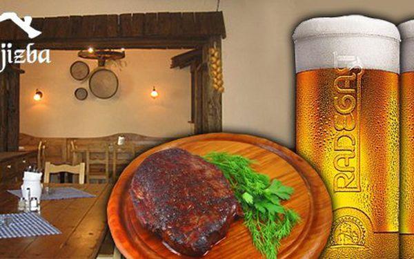 280 Kč za Chalupářský steak z krkovičky a velké pivo Radegast pro DVA v hodnotě 484 Kč. Gurmánský zážitek ve stylové, staročeské restauraci v centru Ostravy se slevou 41%.