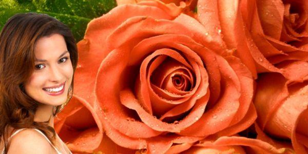 Speciální Valentýnská nabídka! Kytice devíti nádherných 60 cm dlouhých růžových růží, doplněná zelení a lýkovou mašlí, za neskutečných 299 Kč! Neváhejte, svátek zamilovaných se blíží! Velká čerstvá kytice za fantastickou cenu!
