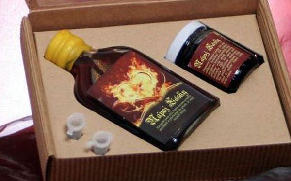 119 Kč za luxusní balíček s nápojem lásky, medovinou a pečeným čajem. Krásný a romantický dárek se slevou 40 %.